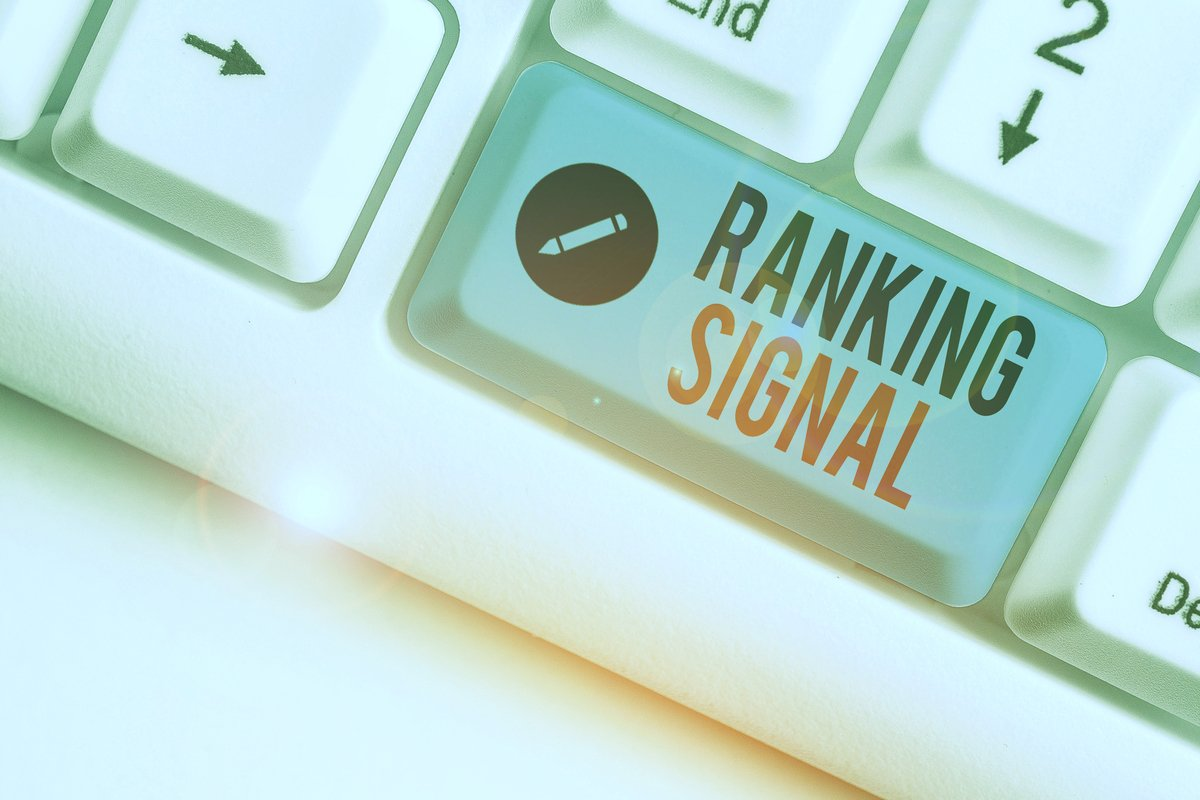 The Most Important Ranking Signals for Content Marketers